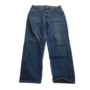 VTG Tommy Hilfiger Straight Jeans Hip Hop Sz 32x30